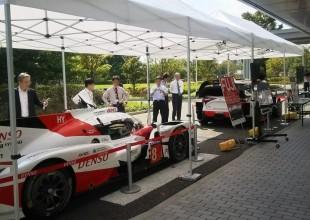 レースカー展示 ドライバー撮影会